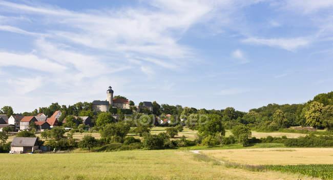 Deutschland, Bayern, Franken, Ansicht von Zwernitz Castle tagsüber — Stockfoto