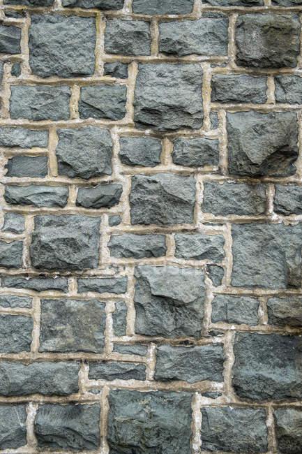 Padrão de parede de pedra velha, quadro completo — Fotografia de Stock