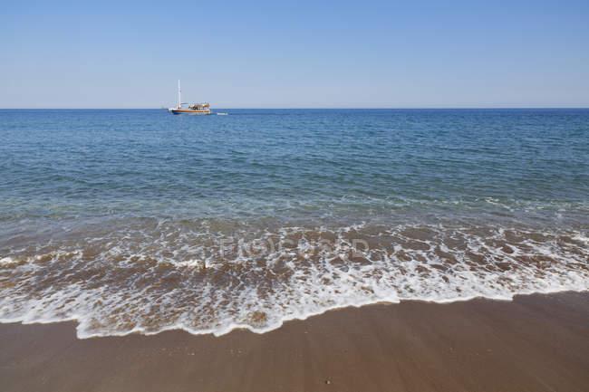Turkey, Lycia, Beach of Olympos — Stock Photo