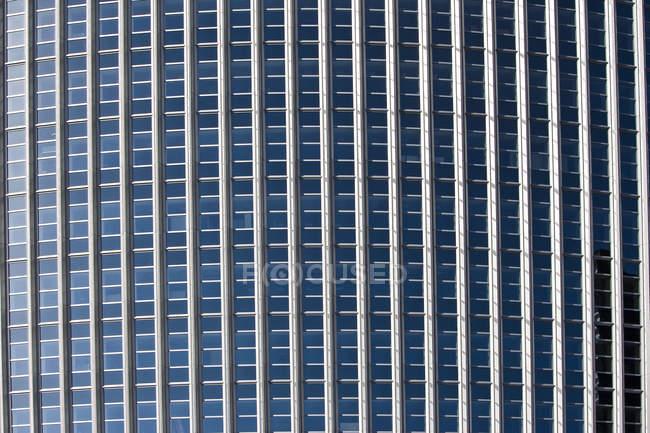 Germania, Assia, Francoforte, Fronte Torre Pollux, dettaglio — Foto stock