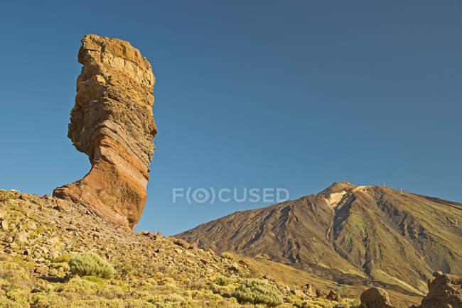 Teneriffe Національний парк Тейде, де Гарсія Roques скельне освіта — стокове фото