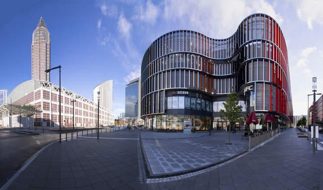 Germany, Hesse, Frankfurt, European Quarter, Skyline Plaza shopping center — Stock Photo