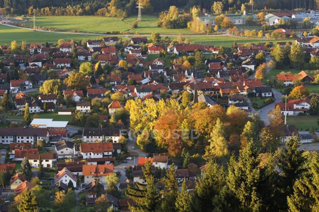 Германия, Upper Bavaria, вид на Остенберг — стоковое фото