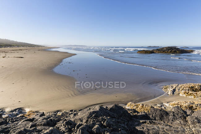 Canada, British Columbia, Vancouver Island, Pacific Rim National Park Reserve of Canada, Combers Beach — Stock Photo