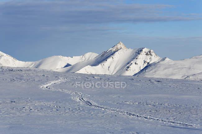 Австрия, Зальцбург, лыжных трасс на горе АНЕК — стоковое фото