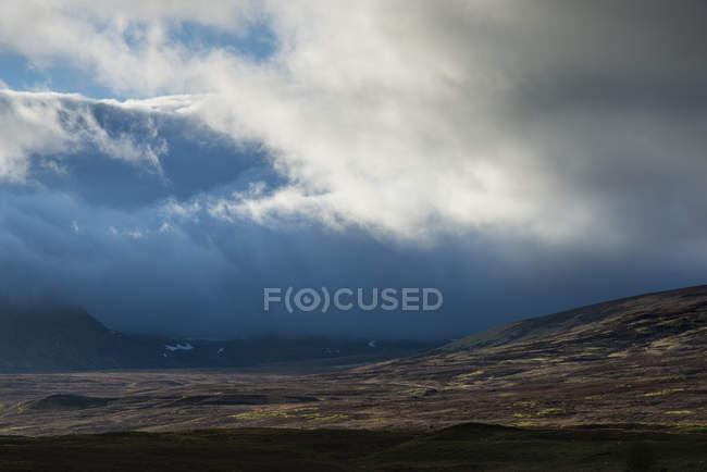 Reino Unido, Escócia, Vista do Parque Nacional de Cairngorms — Fotografia de Stock
