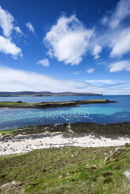Reino Unido, Escócia, exibição de Coral beach perto de Dunvegan — Fotografia de Stock