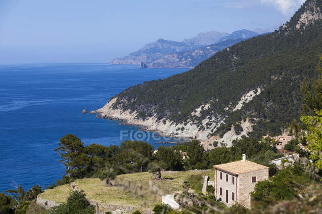 Spain, Mallorca, View of Finca at Balearic Islands during daytime — Stock Photo
