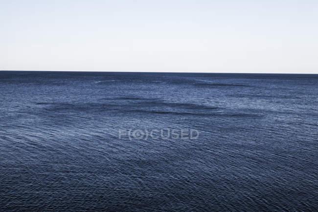 Вид на море при дневном свете, Средиземное море, Хорватия — стоковое фото