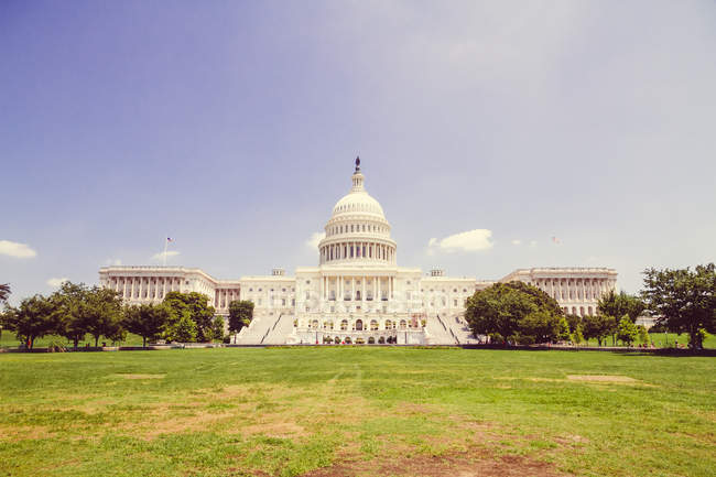 USA, Washington, Exterior of the Capitol building — Stock Photo
