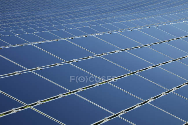 View of Solar panels during daytime, close up — Stock Photo