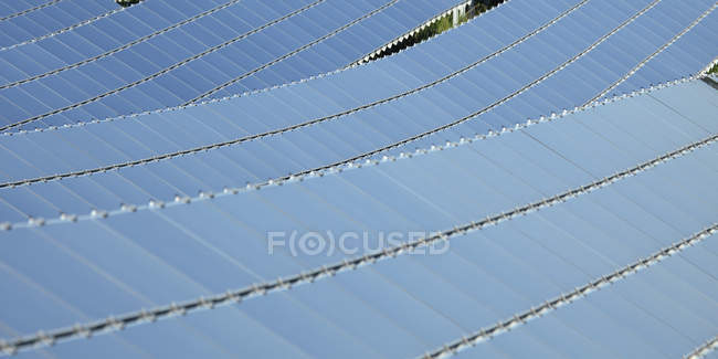 Blue Solar panels, close up — Stock Photo