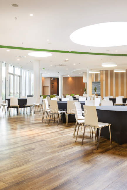 Poland, Warsaw, dining area of a hotel — Stock Photo