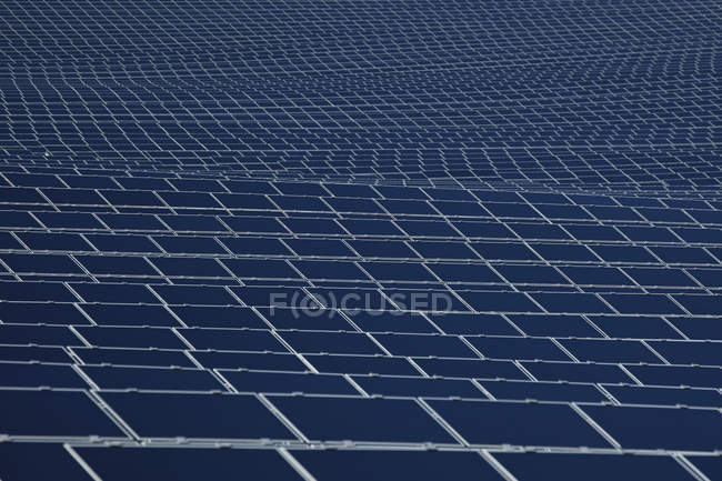 View of Solar panels, close up — Stock Photo