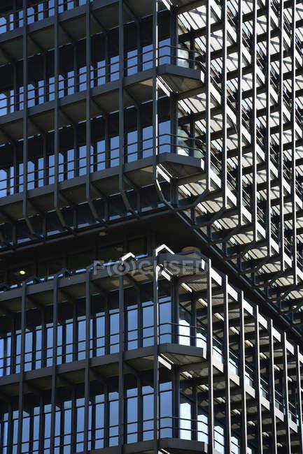 Deutschland, Bayern, München, Teil der Fassade des Europäischen Patentamts — Stockfoto