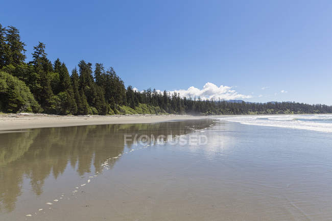 Canada, British Columbia, Vancouver Island, Pacific Rim National Park Reserve of Canada, Florencia Bay — Stock Photo