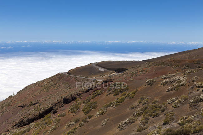 Spain, View of Teide National Park — Stock Photo