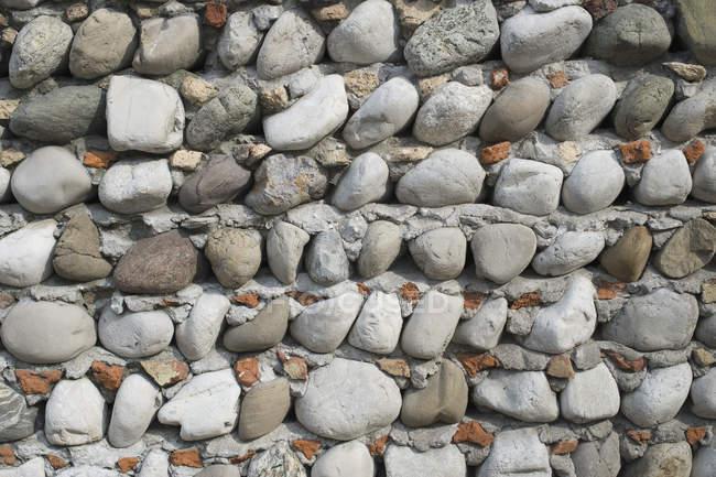 Itália, Construção de parede de casa — Fotografia de Stock