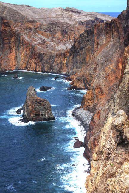 Portugal, vista da Península vulcânica de Ponta de Sao Lourenco — Fotografia de Stock