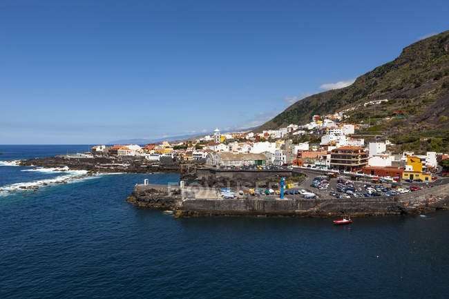 Spain, View of Coastal town of Garachio — Stock Photo