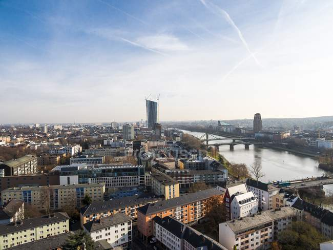 Deutschland, Frankfurt, Hessen, Stadtbild mit Main — Stockfoto