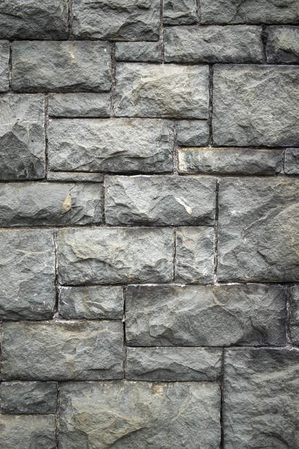 Pattern of old stone wall, full frame — Stock Photo