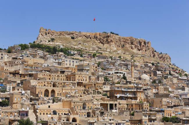 Турция, Мардин, Старый город и Цитадель — стоковое фото