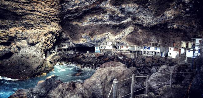 Spanien, Kanarische Inseln, La Palma, Ansicht von Poris de Candelaria — Stockfoto