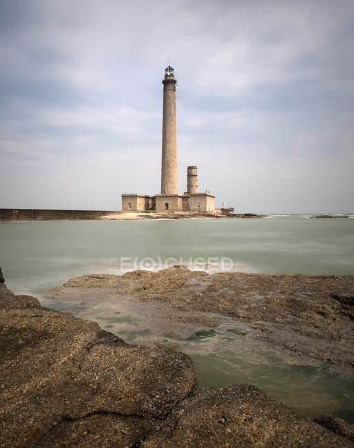 France, Normandy, Phare de Gatteville — Foto stock