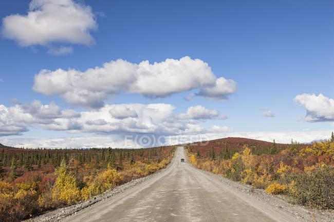 Denali Highway en automne, Alaska, Usa — Photo de stock