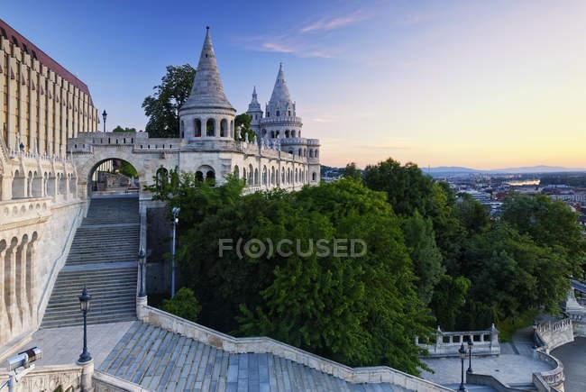 Hungary, Budapest, View to Fisherman's Bastion during daytime — Stock Photo