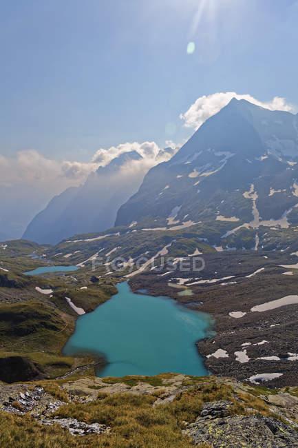 Австрия, Каринтия, Уппер Таббад, Градентал, озеро Градензее, национальный парк Хай Таббад — стоковое фото
