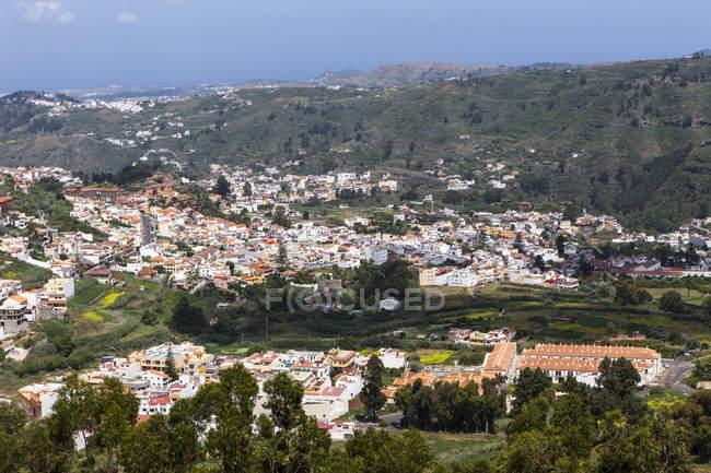 Spanien, Kanarische Inseln, Gran Canaria, Blick nach Teror — Stockfoto