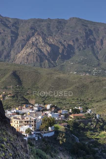 Spanien, Kanarische Inseln, Gran Canaria, Bergdorf Los Cercados während dayitme — Stockfoto