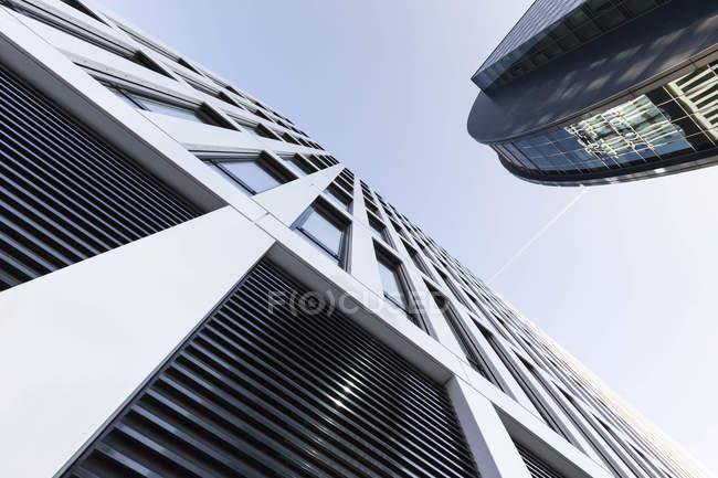 Німеччина, Гессен, Франкфурт, moderne Архітектура будівель і фасади — стокове фото