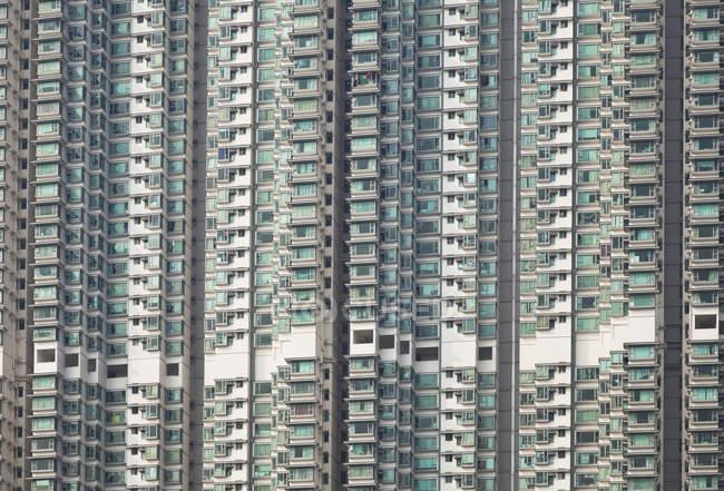 Китай, Гонконг, острова Лантау, Tung Chung, висотних житлових будинків — стокове фото