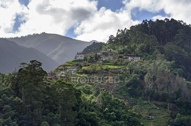 Montanha de Portugal, Madeira, perto de Santana — Fotografia de Stock