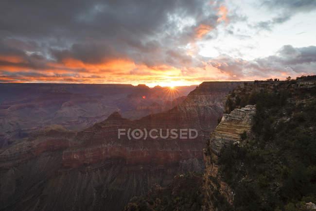 Національний Парк Глибоої ущелини в Санрайз, штат Арізона, США — стокове фото