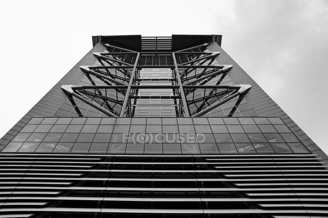 Netherlands, The Hague, facade of high rise office building — Stock Photo