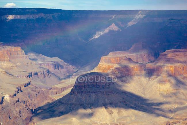 Vista panorâmica do Grand Canyon National Park durante o dia, Arizona, EUA — Fotografia de Stock