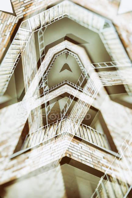 Представление архитектуры абстрактного помещении — стоковое фото