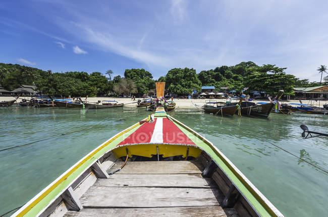Thailand, Koh Phi Phi Don, Boat trip to island — Stock Photo