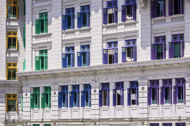 Fassade des Ministeriums für Kultus, Jugend, Gemeinschaft und Singapur — Stockfoto