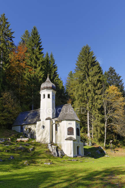 Germany, Sachrang, Mount Olivet Chapel — Stock Photo