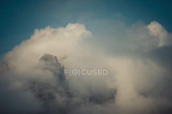 Italie, Province de Belluno, Vénétie, Auronzo di Cadore, Tre Cime di Lavaredo, paysages nuageux — Photo de stock