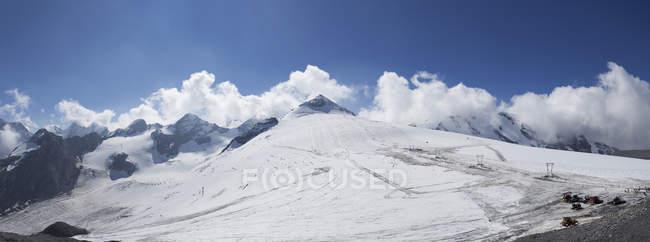 Italy, South Tyrol, Vinschgau, Ski area at Stelvio Pass  during daytime — Stock Photo
