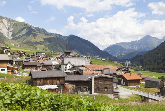 Switzerland, Grisons, Rueras at Surselva Valley during daytime — Stock Photo