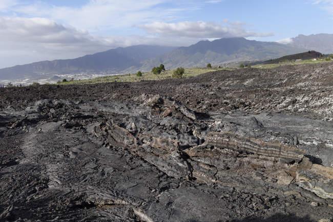 Spain, Canary Islands, La Palma, natural landmark Tubo Volcanico de Todoque near Las Manchas — Stock Photo