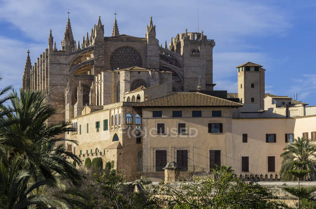 Spain, Majorca, Palma, Cathedral La Seu — Stock Photo