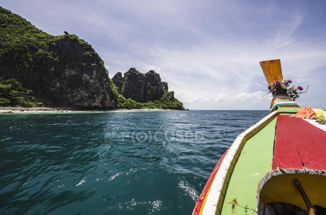 Таиланд, Phi Дон Phi Koh, путешествие на лодке на остров — стоковое фото
